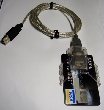 Gempc twin smart card reader