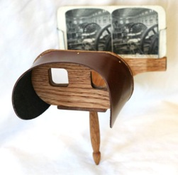 Holmes' American Stereoscope (reproduction)