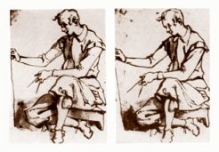 Jacopo Chimenti's first stereoscopic image
