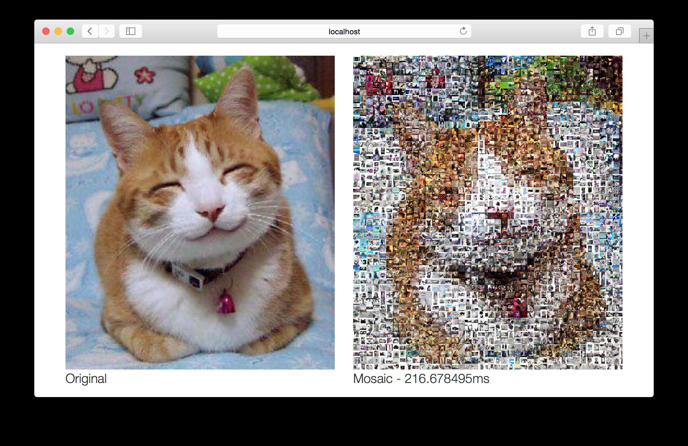 Creating a photo mosaic web app – saush